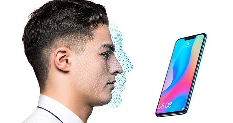 سیستم تشخیص چهره هواوی نوا 3