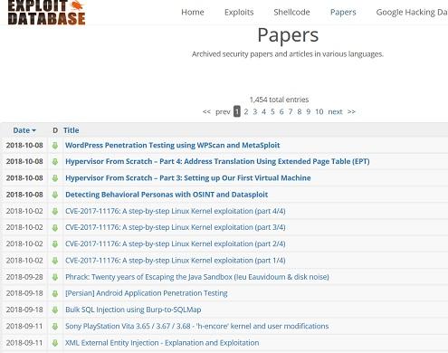 ارائه ۲ مقاله ارزشمند در وب سایت exploit-db
